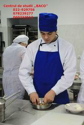 Cursuri bucatar - cofetar. De la 147 lei in Rate sau Credit