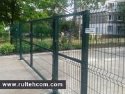 Ворота и калитки для заборов.Gard metalic.Poarta.Plasa metalica.Сетка