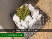 Габионы в Молдове. Сетка для габионов. Секции. Gabioane Moldova. Plasa