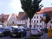 ФРГ,  красивый дом с кафе,  офисом,  гаражом и участком в пешеходной зоне