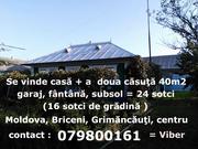 Se vinde casă Briceni,  Grimăncăuţi