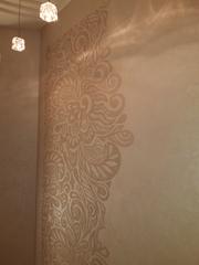 Тencuiala decorativa efect beton, velur,  / декоративные покрытия стен