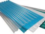 Ardezie din plastic,  transparentă,  colorată,  ondulată.