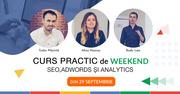 Curs Practic de Weekend: SEO,  Adwords și Analytics