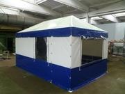 Палатки и шатры,  навесы и ангары теплицы проектирование ,  изготовление