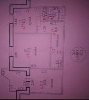 Срочно продам двухкомнатную  квартиру в центре г.Рыбница